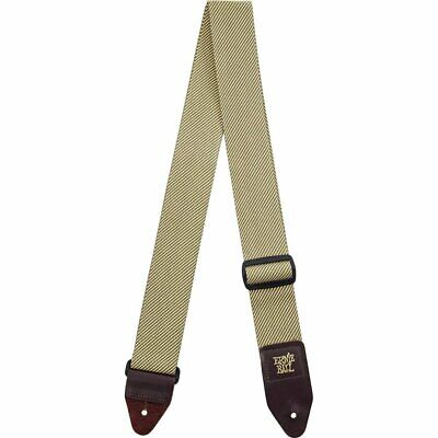 Ernie Ball Classic Vintage Style Tweed Guitar Bass Adjustable Strap New