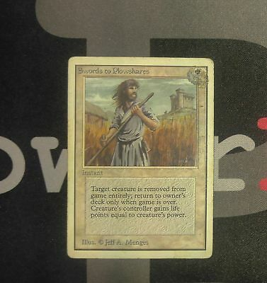 1x Swords to Plowshares 4th Edition MtG Magic White Uncommon 1 x1 Card Cards