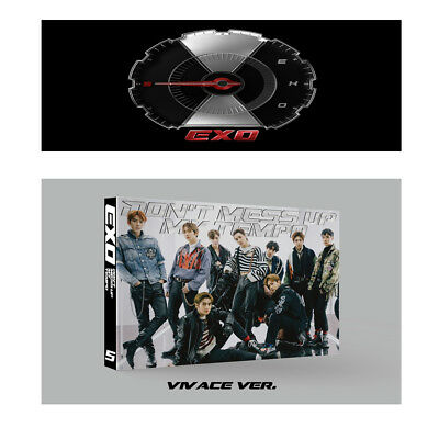 EXO 5th Album - DON'T MESS UP MY TEMPO (Vivace Ver) Album + Folded Poster 1ea