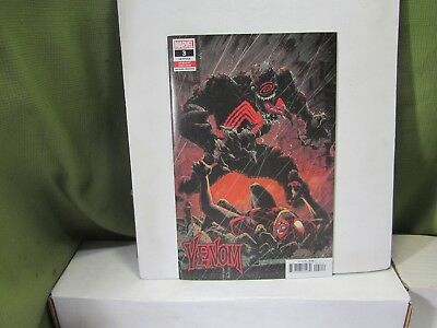 VENOM  #3 2018 RYAN STEGMAN 2nd PRINT VARIANT NM 1st APPEARANCE KNULL SOLD OUT