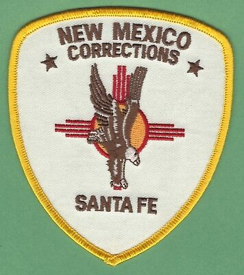 Nw Mexico State Department Of Corrections Santa Fe Division Police Patch