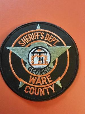 Ware county   Goergia  sheriff  police  patch
