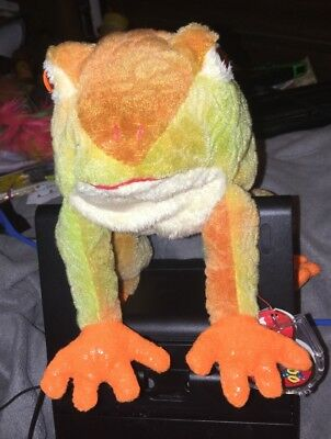 1bb60a0cad0 Ty Beanie Baby Prince The Frog 🐸 2000- With Tag Protector- Retired Rare