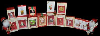 The Ultimate Gigantic Hallmark & Kurt Adler Santa & Elf Christmas Ornament Lot