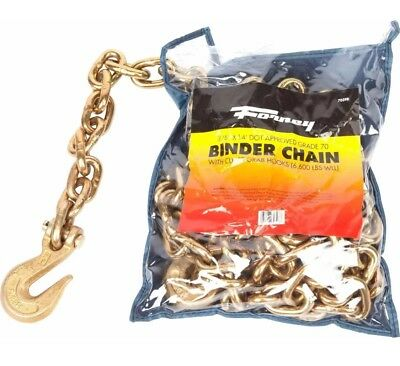 Binder Chain, 3/8-Inch-by-14-Feet Forney 70398