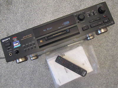 Sony MDS-JB920 QS MiniDisk - Player / Recorder + Fernbedienung