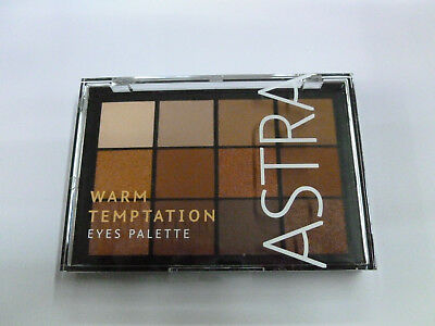 Astra Warm Temptation Eyes Palette make up trucco trousse ombretti nuova