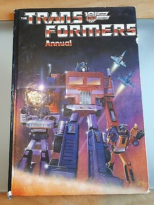 The Transformers Annual 1985 G1 Hasbro Vintage