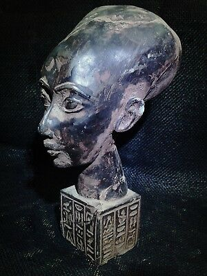 EGYPTIAN ANTIQUES ANTIQUITIES Meritaten Akhenaten Daughter Statue 1356-1310 BC