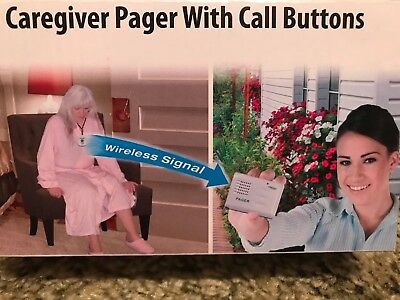 Smart Caregiver Pager With 2 Call Buttons For The Elderly - Tl-5102Tp