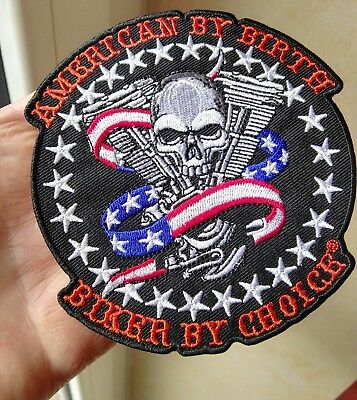 Toppe Patch Ricamata Termoadesiva Harley Bikers Chopper