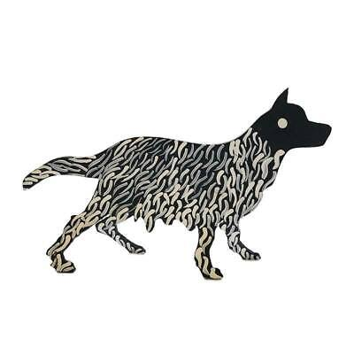 Aboriginal Art Metal Mother Dog