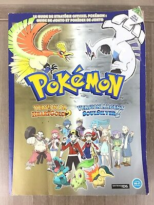 Pokémon Version Or Argent Heartgold Soulsilver Guide Nintendo DS (heart gold)