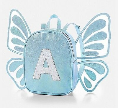Justice Butterfly Wing Letter A  Mini Backpack Last One!🦋