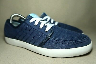 f77db873cd6d2 ADIDAS SUMMER DECK Mens Navy Textile Shoes Trainers UK 8 EU 42 - EUR ...