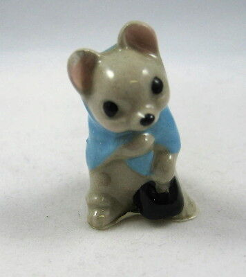 Hagen Renaker miniature Made in America Country Mouse Mama  retired