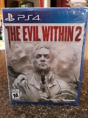 Evil Within 2 (Sony PlayStation 4, 2017) PS4 Brand New Sealed