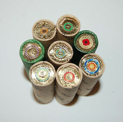 8 $2 COIN ROLLS Red Poppy, Purple,Green,Orange,Red,ANZAC Remembrance 2012-2018