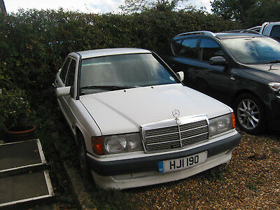 1991 Mercedes 190E Zender Body Kit 1.8 Auto For Restoration