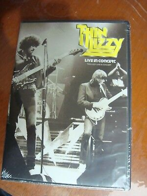 THIN LIZZY LIVE IN CONCERT DUBLIN 1983 NEW DVD Region code1&4 AUDIO ENGLISH