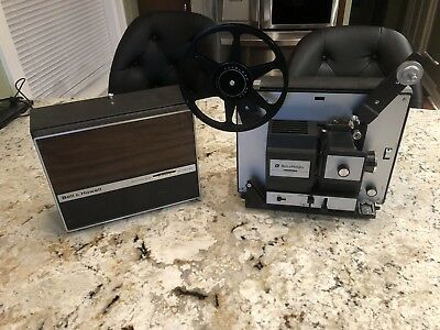 Vintage Bell & Howell 481A Autoload Movie Projector 8mm / Super 8