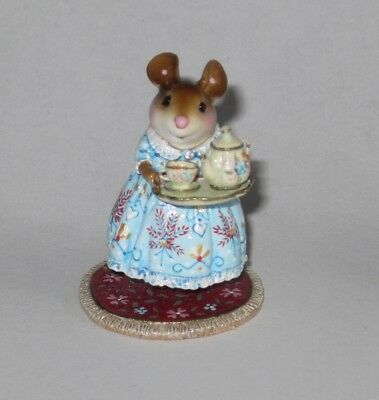 Wee Forest Folk M-594b A COSY TEA, Winter limited edition of 300