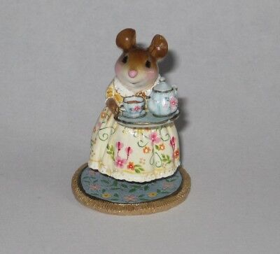 Wee Forest Folk M-594d A COSY TEA, Summer limited edition of 300