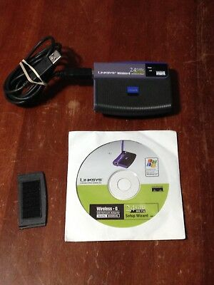 linksys wireless-g 2.4 ghz wusb54g ver 4 driver
