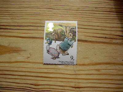 MNH 9p stamp Tale Peter Rabbit Year of the Child 1979 Beatrix Potter Shift error