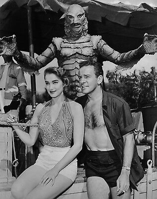 CREATURE FROM THE BLACK LAGOON WITH JULIE ADAMS 8x10 Photo