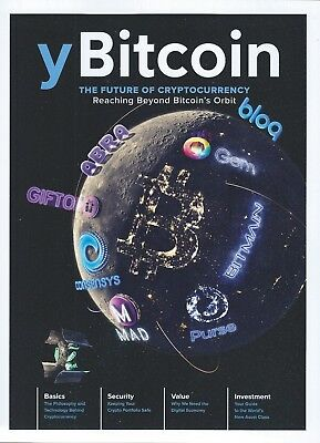Y Bitcoin Magazine Volume 5 Issue 1 Cryptocurrency Basics Security Investment