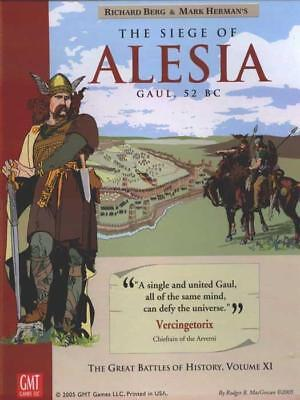 GMT GBoH Wargame Siege of Alesia, The - Gaul 52 BC Box VG+