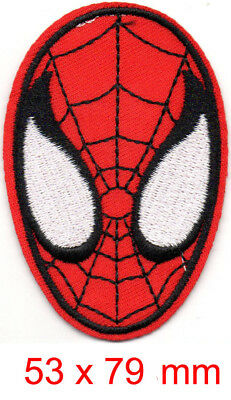 Marvel Avengers Spiderman iron-on patch superhero embroidered logo badge n tw