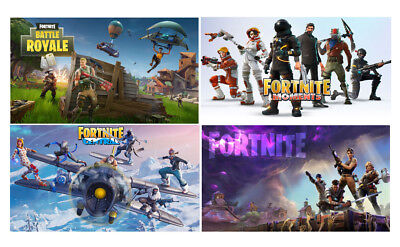 Fortnite Game Wall Poster Photograph Photo Art Reproduct Prints 12x19 17x26inch