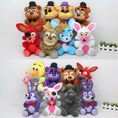 Brand New FNAF Five Nights At Freddys Plush Toys Foxy Bonnie Cupcake BIG CHOICE