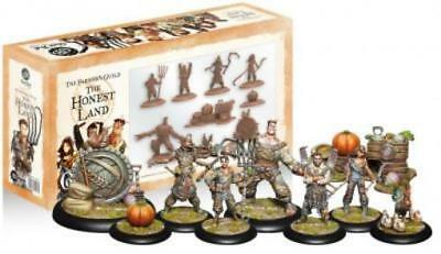 Steamforged Guild Ball Farmer's 30mm Honest Land, The Box SW