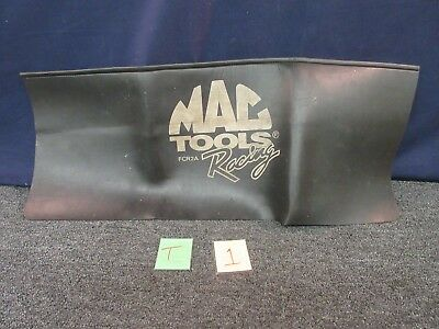 Mac Tool Racing Automotive Fender Skirt Cover Shop Drape Usa Black Fcr2A Used