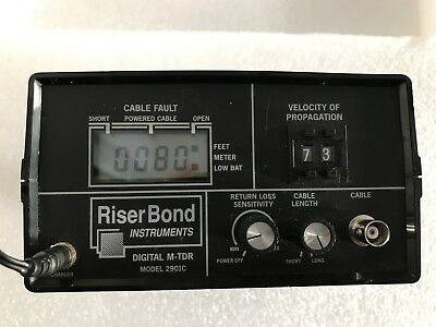 Riser Bond RiserBond Instruments Digital M-TDR 2901C