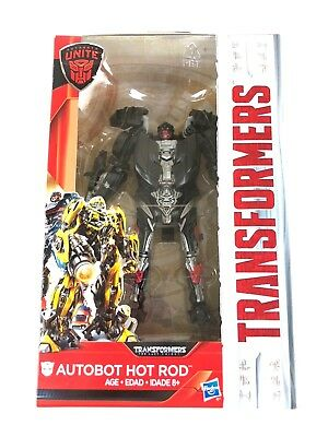 Transformers Hot Rod Deluxe Figure The Last Knight Autobot Toy New