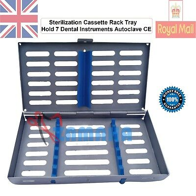 Zamaha Sterilization Cassette Rack Tray Hold 7 Dental Instruments Autoclave CE