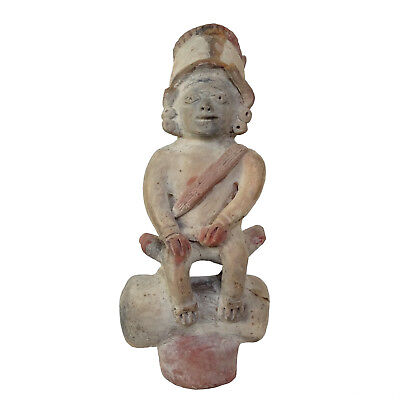 Pre-Columbian figure Shamanic Ancient Mayan Mexico Statue Figurine Inca Aztec