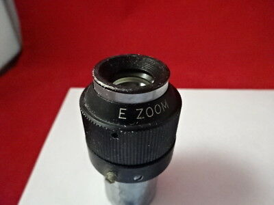 Variable Magnification 20X 10X 15X Eyepiece Microscope Part Optics As Is Am-A-23