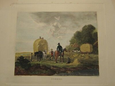 Hand Colored Engraving,summer,late 18Th-Early 19Th Cent.,john Dearman