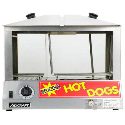 Adcraft Hot Dog Steamer HDS-1000W  120 volt   Great Value #226
