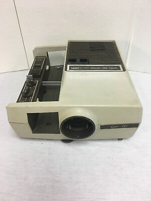 Montgomery Ward Q-555 Automatic Slide Projector - Tested & Working
