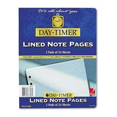 Day-Timer® Lined Pages, 8 1/2 x 11 767199873289