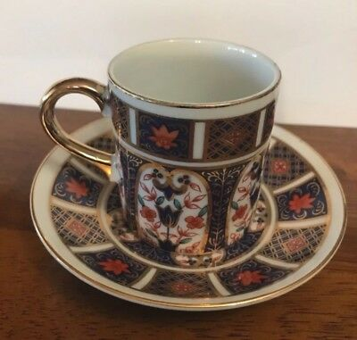 Gorgeous  Vintage Imari Cup And Saucer Coffee/Espresso Excellent Condition Japan