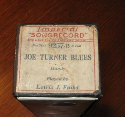 Joe Turner Blues From W C Handy Father Of The Blues Original Piano Roll 1218