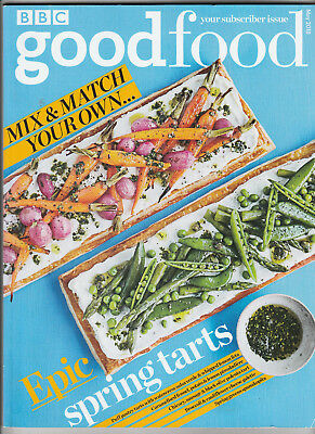 BBC GOOD FOOD Magazine May 2018 - Epic Spring Tarts & Supplement