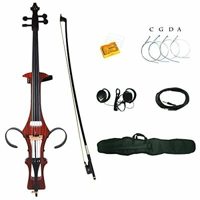 Kinglos 4/4 Full size solid wood colored electric cello kit (DSDT 1805)